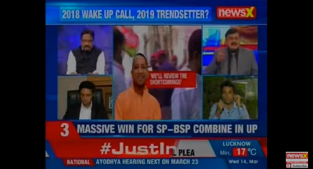 "Pradip Bhandari says ""2019 is going to be all v/s Modi"" on NewsX"